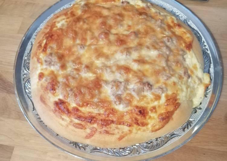 Pizzas au thon prête en 1h
