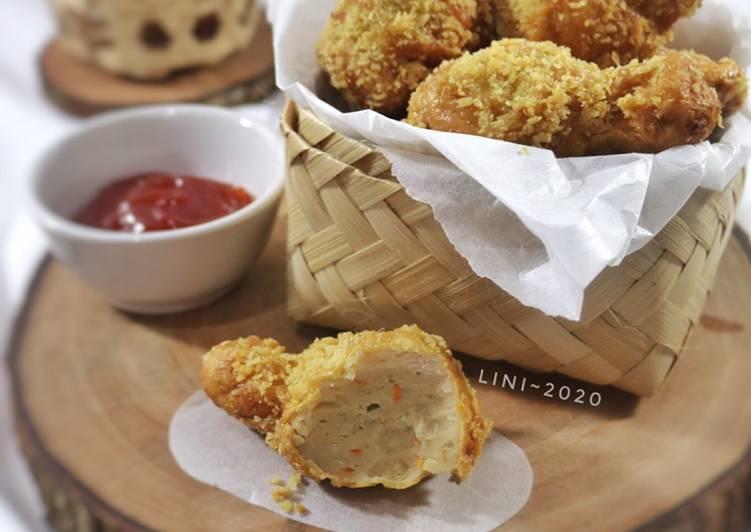 Chicken Nugget Paha - Nugget ayam bentuk paha
