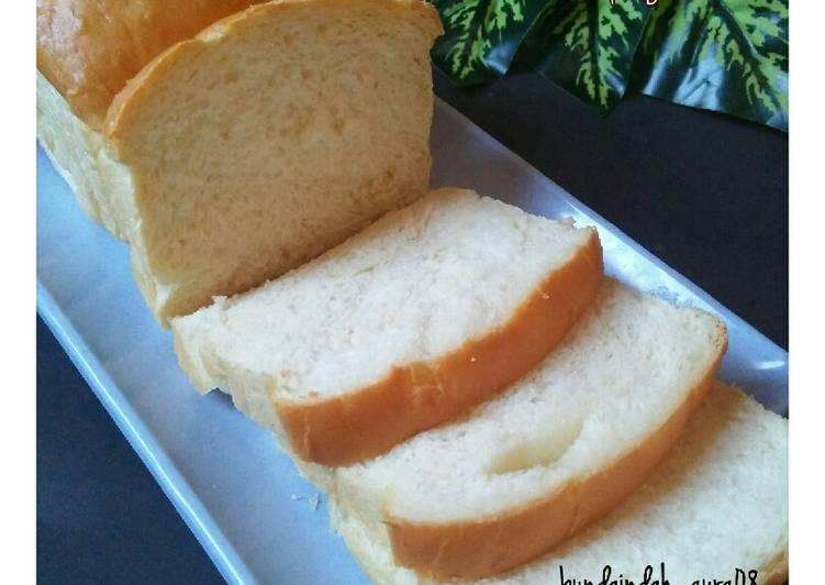 Resep Roti Tawar Jepang (Shokupan) Terenak