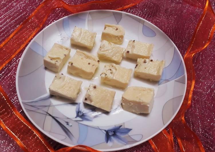 Instant Kharvas Junnu Recipe By Drkhushboo Bansal Cookpad