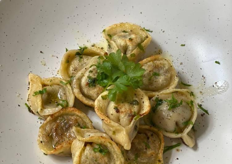 Mushroom and Mascarpone Tortellini