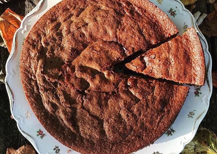 recette Gâteau yaourt et chocolat le délicieux