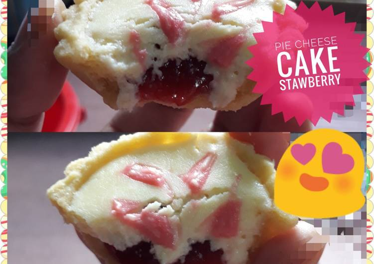 Resep Pie Cheese Cake Stawberry Favorit