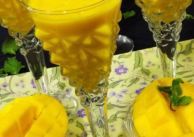 Recipe of Favorite Mango juice