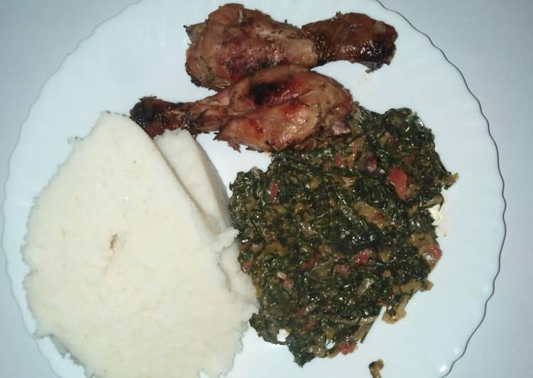Recipe of Award-winning Garlic rosemary chicken