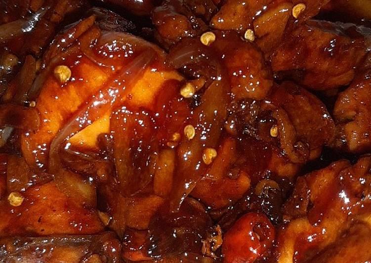 Ayam kecap pedas 😋