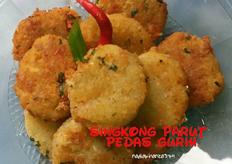 Resep Singkong Parut Gurih Pedas Week1 Oleh Nadia Khanza Cookpad