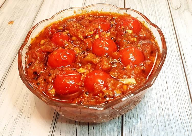 How to Cook Appetizing Tomato Chutney (Kasaundi)