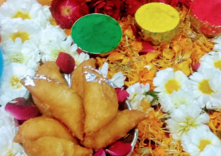Easiest Way to Make Ultimate Mawa Gujhia