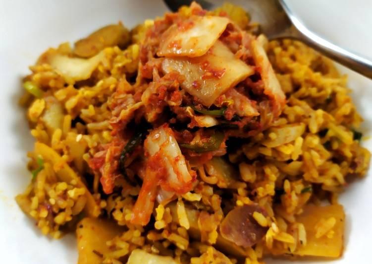 Nasi Goreng Kimchi Sosis