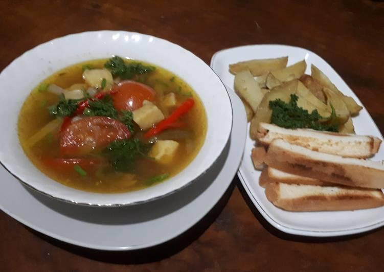 Sup ikan 2 (fillet dori)