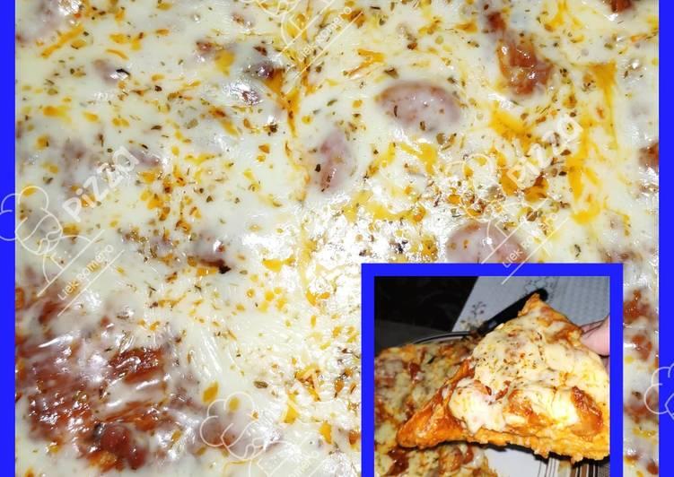 Resep Pizza Teflon Oleh Les Mers De Cuisine Cookpad