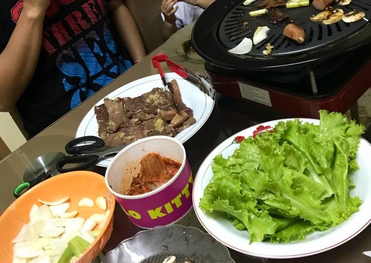 Resep Korean Barbeque Ala Mamatun Oleh Zilka Mamatun Cookpad
