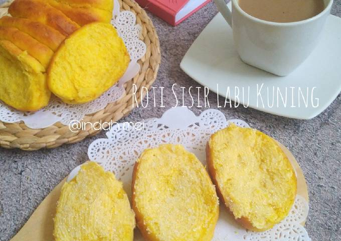 Roti Sisir Labu Kuning / Waluh