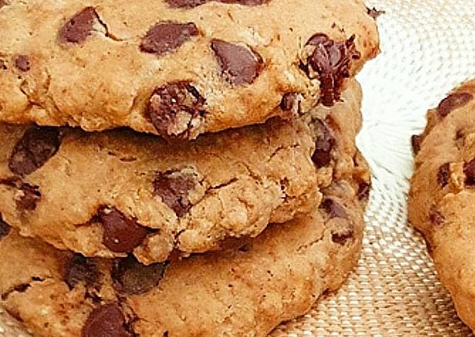 Cookies gourmand et healthy