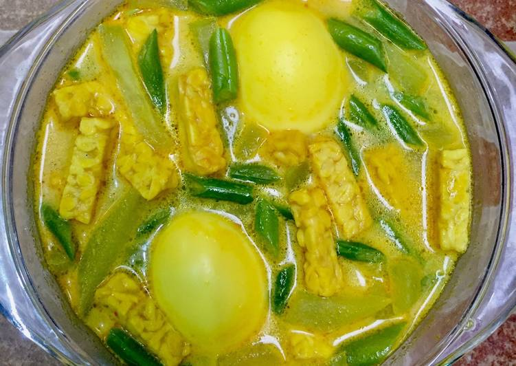 Sayur Lodeh Labu Siam