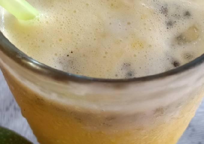 Juice Markisa Segar Susu Selasih (Juice M3S)