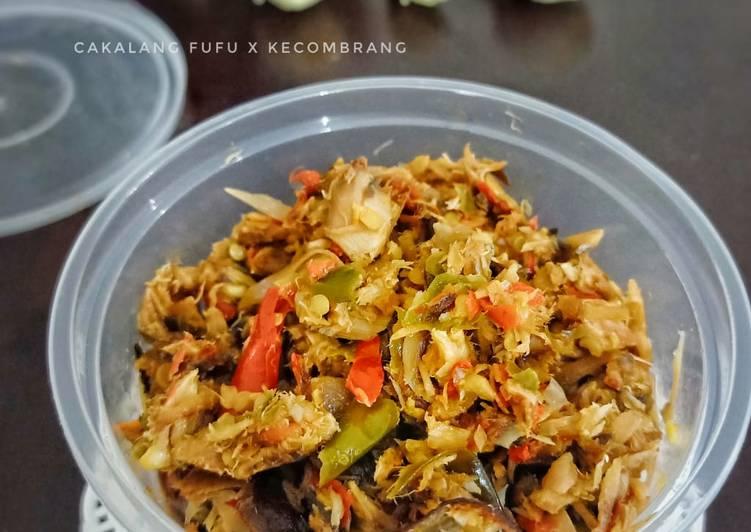 Cakalang fufu kecombrang