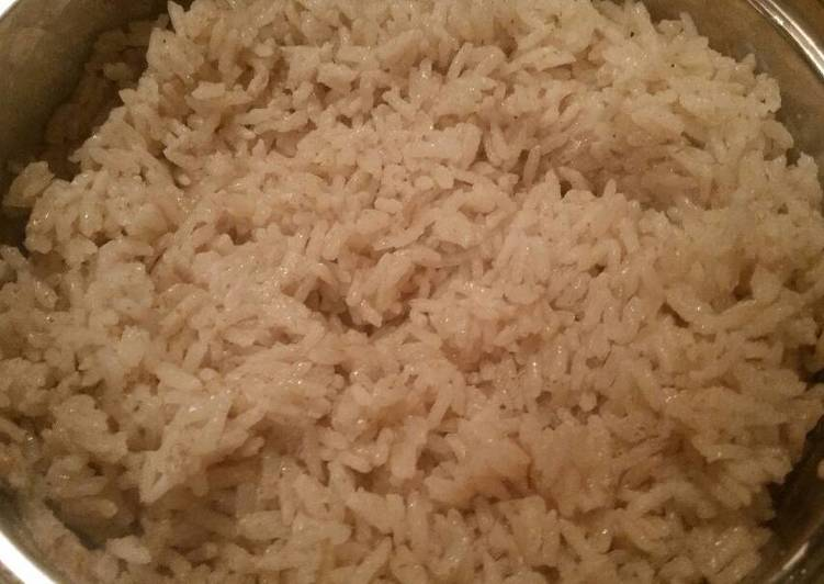 Sweet Coconut-Rum Rice