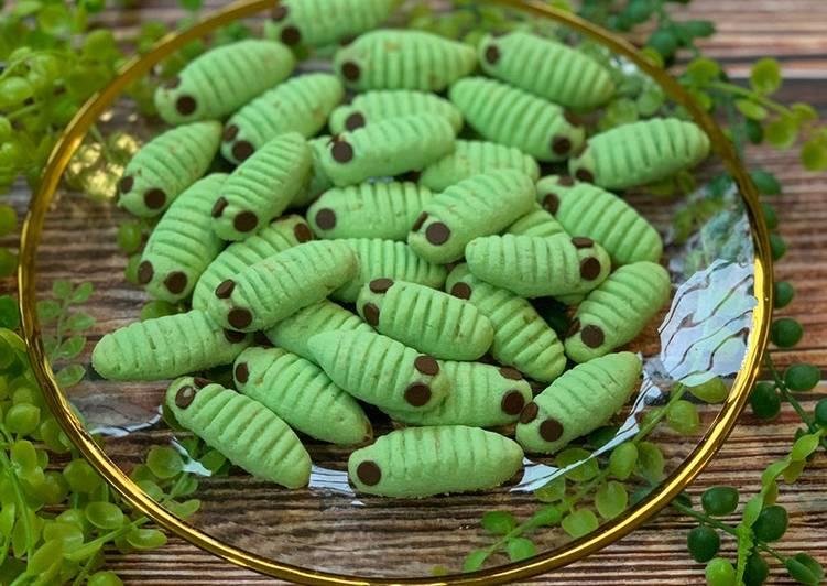 Caterpillar Cookies (Gluten Free Cookies)