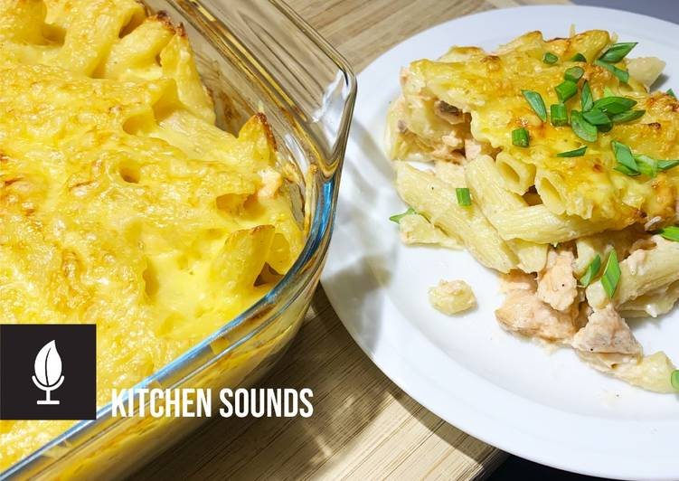 How to Make Favorite Salmon Mac and Cheese 🧀🐟🍲