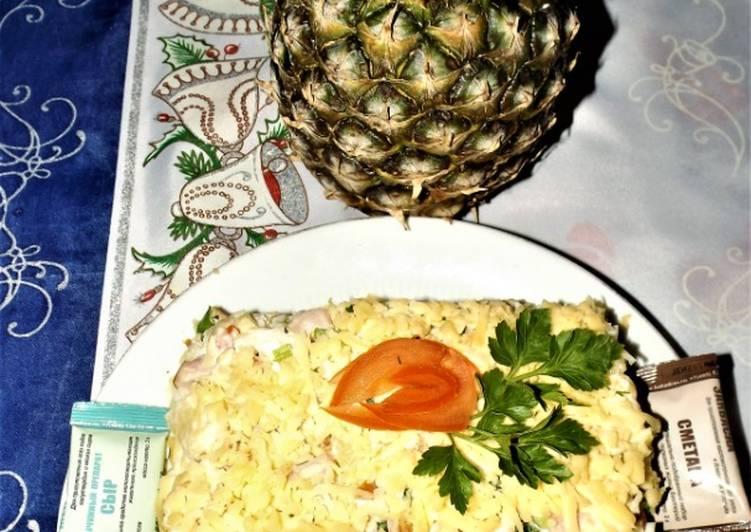 салат белый рояль фото и рецепт также приглашаем