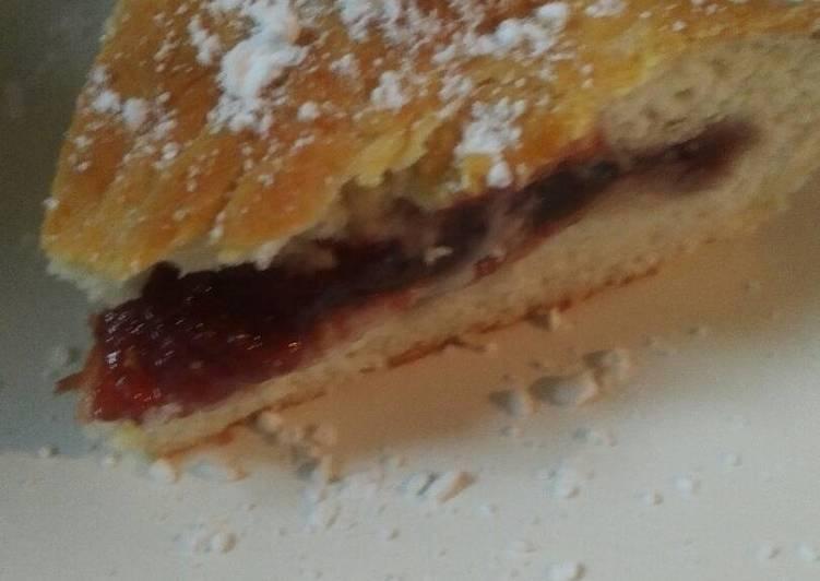 Jam Cake Biscuit