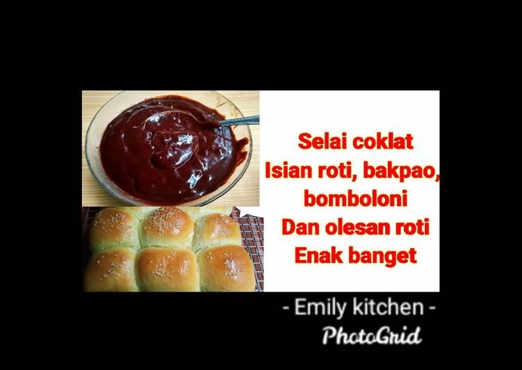 Resep Selai coklat untuk isian Roti, bakpao, bomboloni, olesan Roti Bikin Ngiler