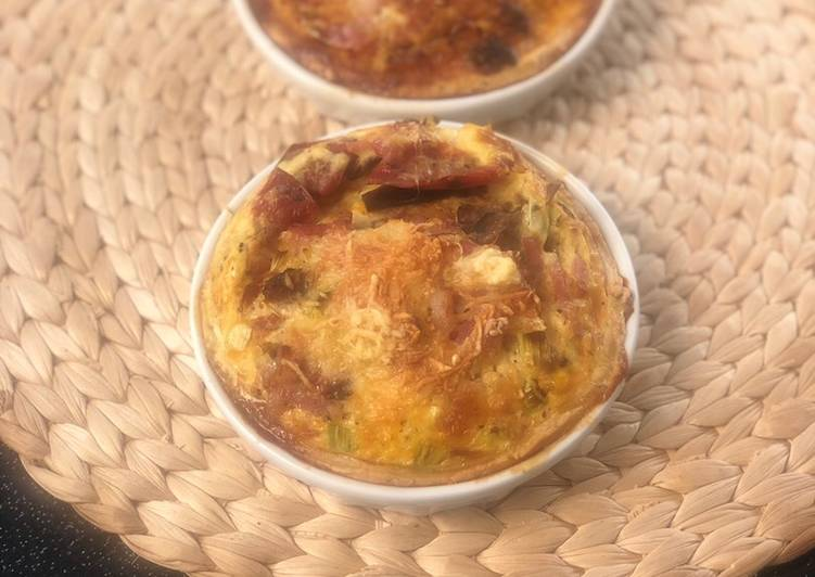 Tartelettes aux légumes grillés