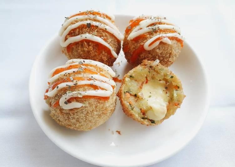 Cheese Kerokke (Kroket Keju)