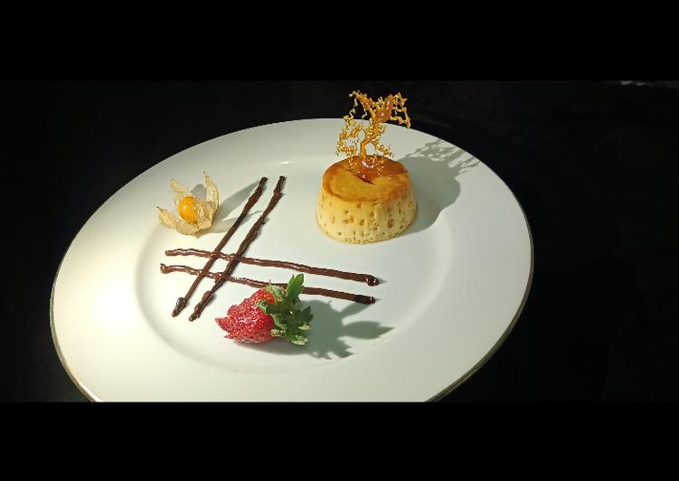 Custard Caramel Pudding - #CreativeYouthEM