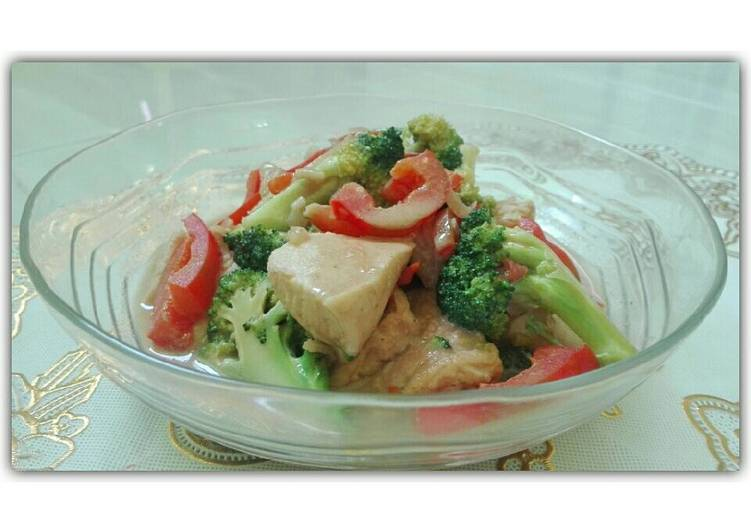 2. Cream Sup Tofu Ayam