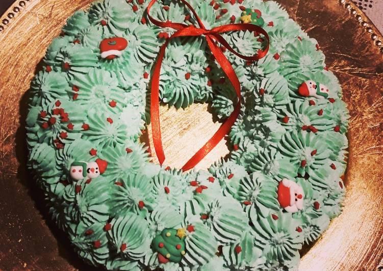 ☆Couronne de Noël Cerise Amaretto☆