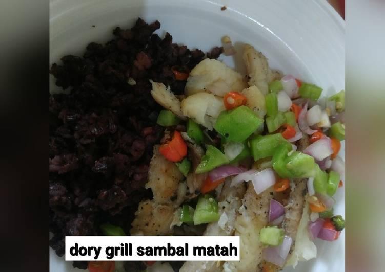 Dory grill less gula & garam