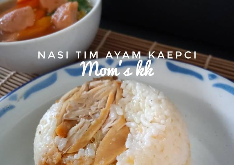 Nasi Tim Ayam kaepci