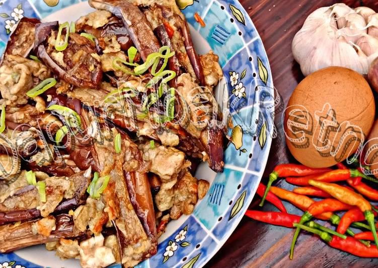 Orak Arik Terong Telur (Terong saus telur Khas Manado) foto resep utama