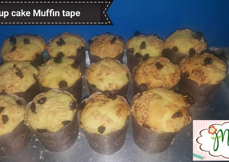 Resep Cup Cake Tape Singkong Keju Kismis Oleh Chef Andre Cookpad