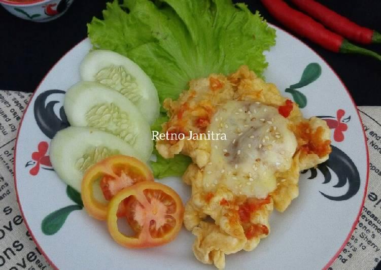 Ayam Geprek Mozzarella