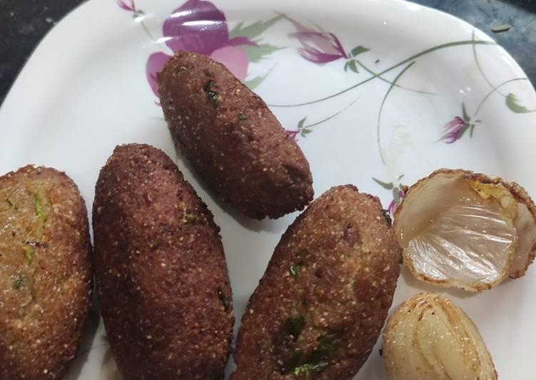 Soya chunks kabab