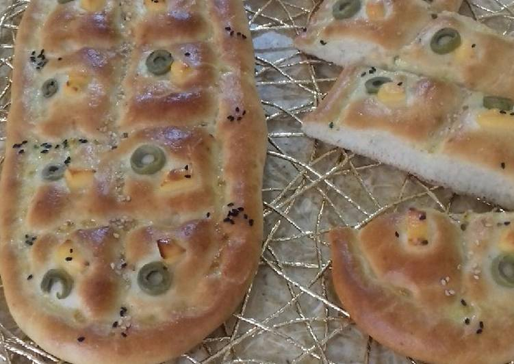 Recipe: Tasty Pain aux olives et fromage