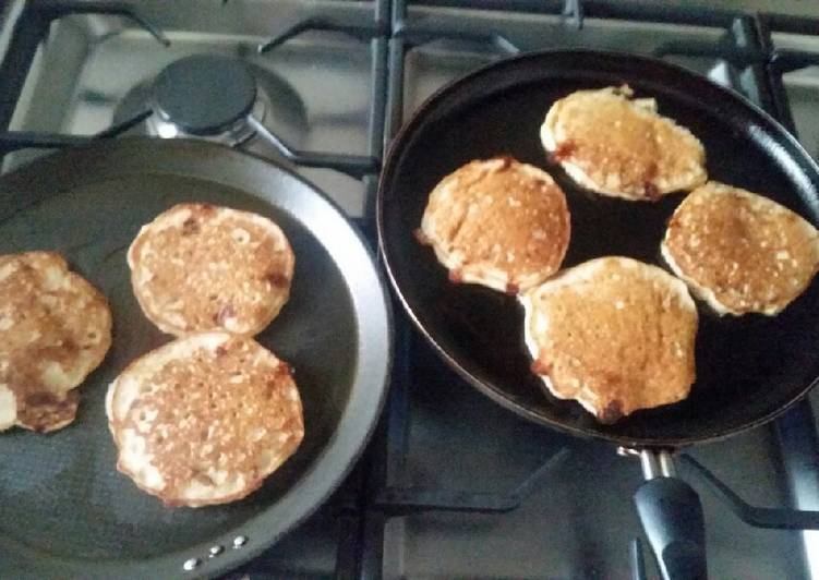 OCB..Oat, Cottage Cheese and Banana Flapjack/Pancakes