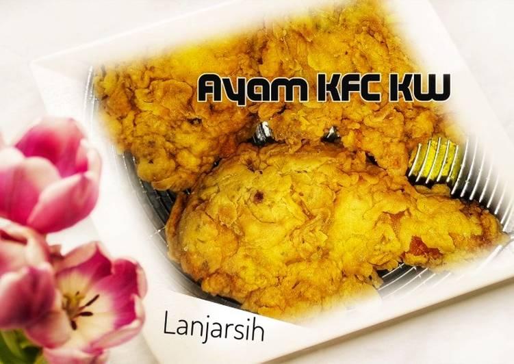 Ayam KFC KW Keriting
