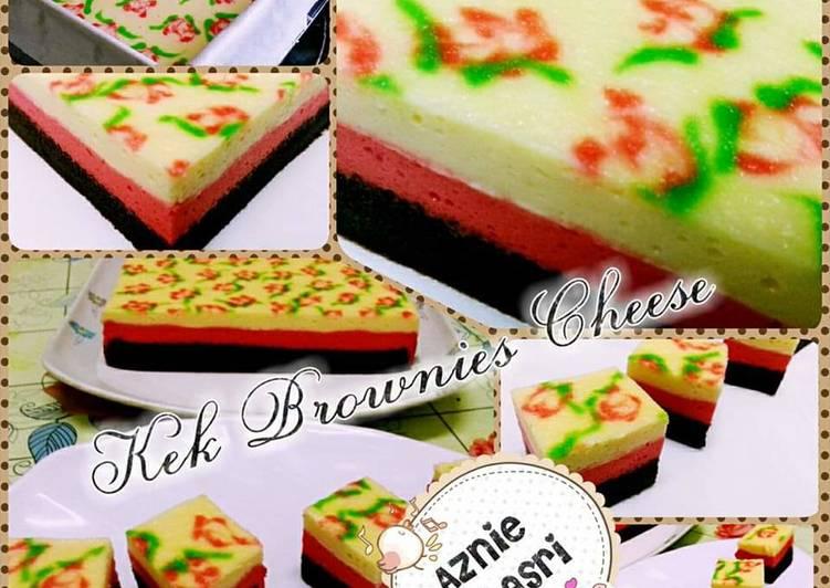 Kek Brownies Cheese