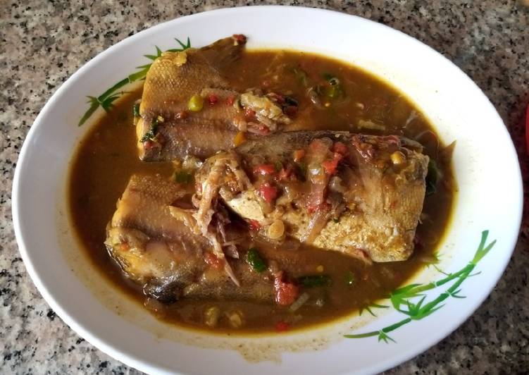 Step-by-Step Guide to Prepare Any-night-of-the-week Fish pepper soup