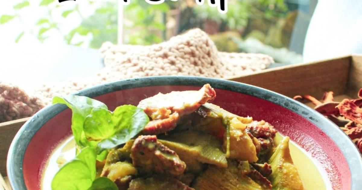 resepi masak lemak cili padi daging salai  sedap  mudah cookpad Resepi Masak Lemak Cili Api Betik Muda Enak dan Mudah