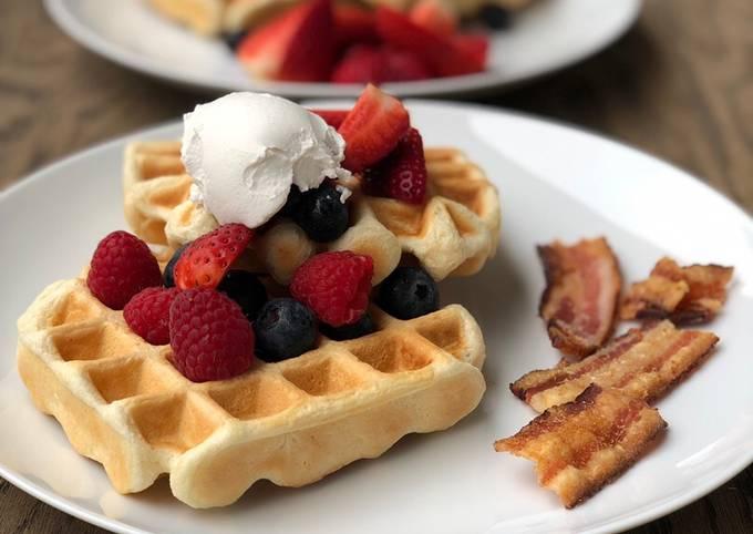 Recipe: Perfect Vegan Waffles