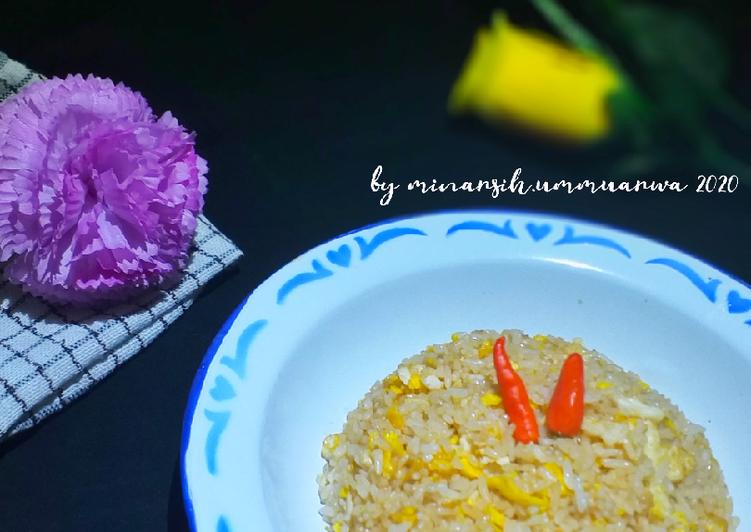 Resep Nasi goreng bumbu instan (sajiku) Favorit Anak #38¹ Bikin Jadi Laper