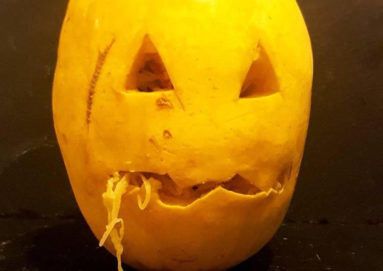 Comment Préparer Des Courge spaghetti spécial Halloween