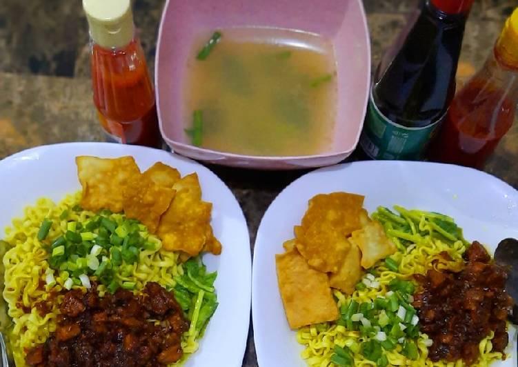 Resep Mi Ayam Brilyan Super Simple (nama anak saya) Paling Joss