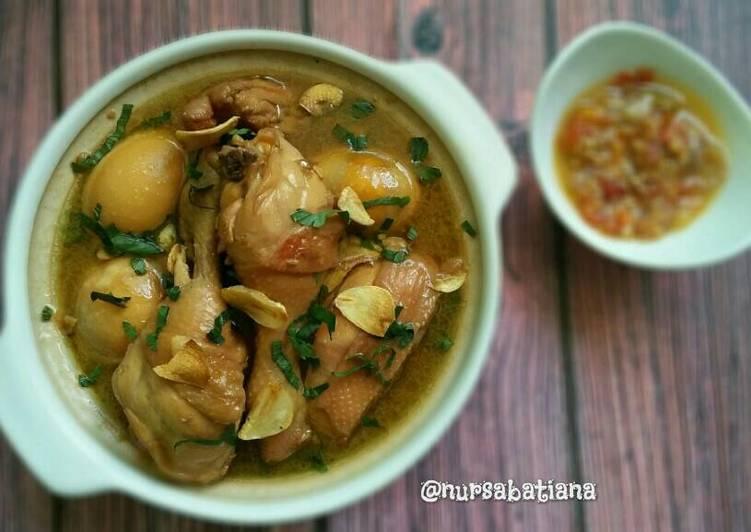 Ayam Masak Tauco (Swikee Ayam)